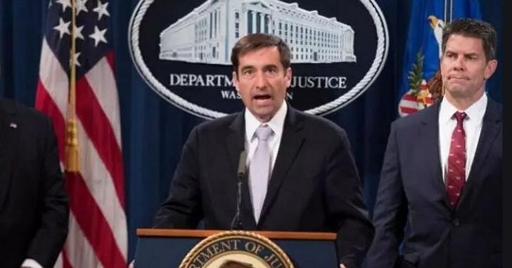美國司法部抨擊中國正在用「搶劫複製」式模式傷害美國經濟