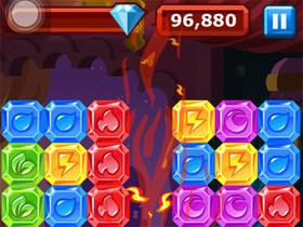 熱門方塊遊戲 Diamond Dash for iPhone,考驗反應速度
