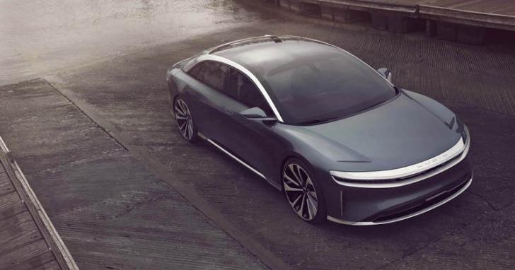 挑戰 Tesla Model S ,電動車新秀 Lucid Air 續航力突破800公里以及擁有1000匹的兇狠馬力