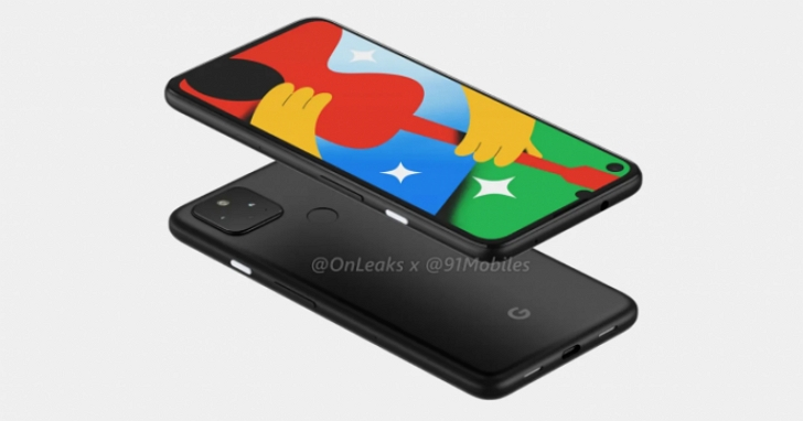 Google Pixel 4a 5G版本算繪圖曝光:穿孔螢幕+雙鏡頭組合