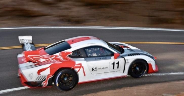 Jeff Zwart 將挑戰 Pikes Peak 派克峰國際爬山賽,由 Porsche 935領戰