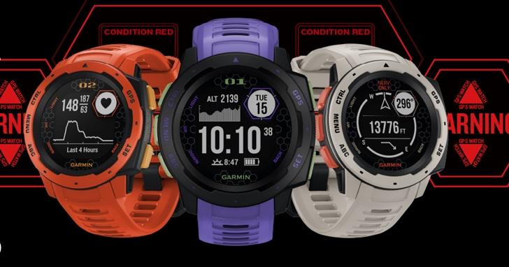 《新世紀福音戰士》智慧腕錶來了!Garmin 在台推出全新 Instinc 本我系列 EVA 聯名限定版,售價 11,990 元