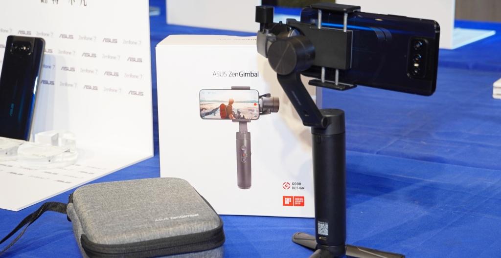 ZenFone 7 之外,華碩還推出三軸穩定器、PD 行動電源、48W 旅行充電器