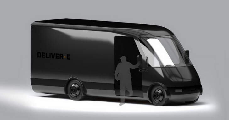 Bollinger 也搶進電動車市場,發表電動廂車 Deliver-E 概念設計