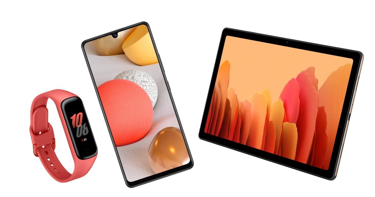 或許是最平價 5G 手機,三星發表 Galaxy A42 5G、Galaxy Fit 2、Galaxy Tab A7