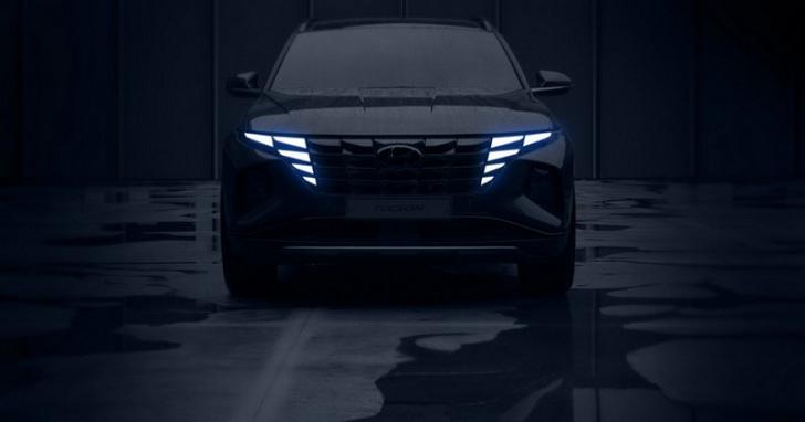 大改款 Hyundai Tucson 由內而外帥翻全場,這真的不是概念車嗎?