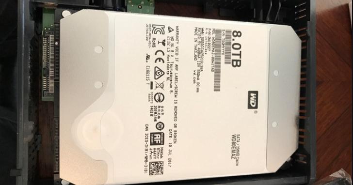 賣虧了?WD被爆出特定8TB 5400rpm的硬碟,實際上的轉速竟然是7200rpm