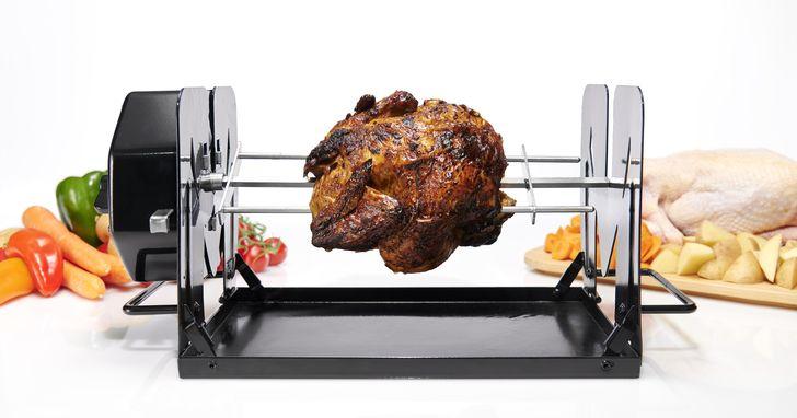 轉烤大師ROTO-Q 360,烤肉苦主的救星來了