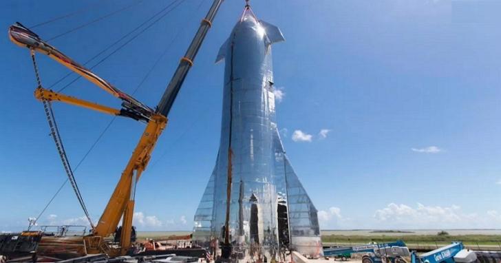 馬斯克表示星際飛船SN8測試機,將配備鼻錐並嘗試20公里往返飛行測試