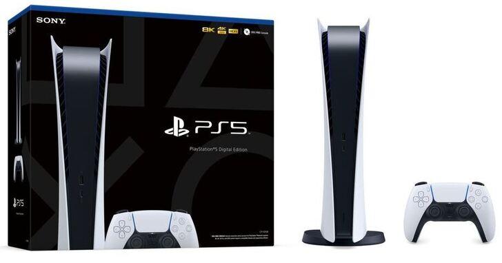 PS5 為遊戲主機歷史上最大台的裝置,硬體規格與銷售包裝同步曝光