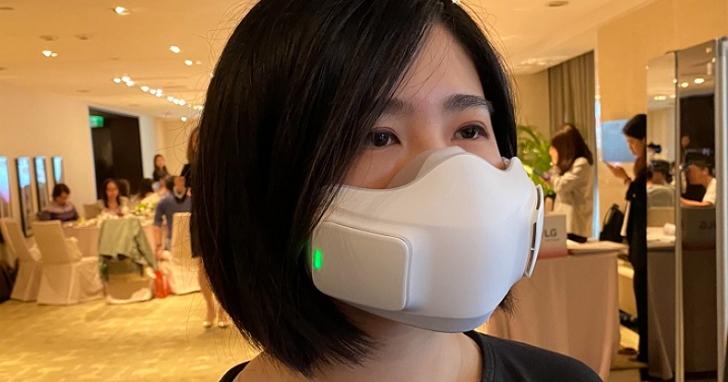 LG PuriCare 口罩型空氣清淨機,預計 10 月上市、定價約 5,000 元