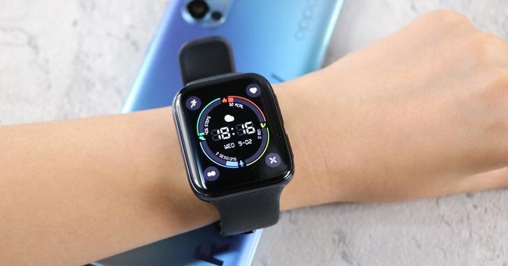 OPPO Watch 開箱動手玩:極美雙曲面 AMOLED 螢幕、整合 Google 作業系統生活應用更全面