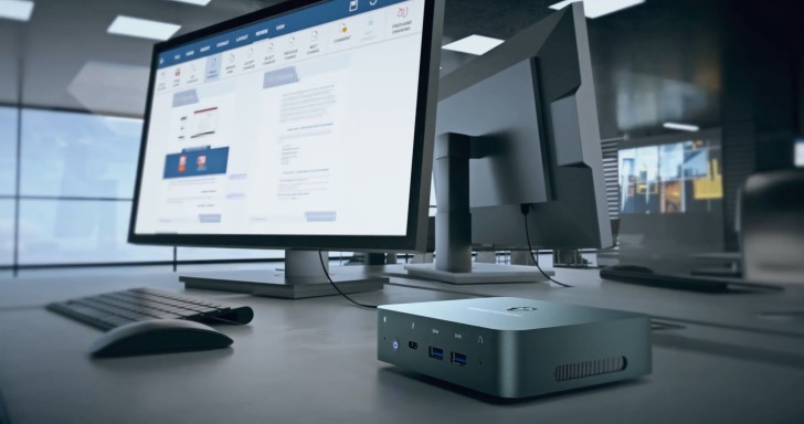 Minisforum X35G迷你電腦搭載第10代Intel處理器,整合Thunderbolt 3、Wi-Fi 6等高速傳輸功能
