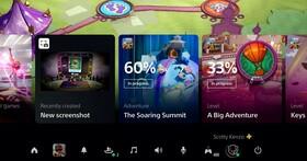 索尼官方首度公開 PS5 介面,全新的控制中心瀏覽遊戲預計通關時間、任務目標等資訊