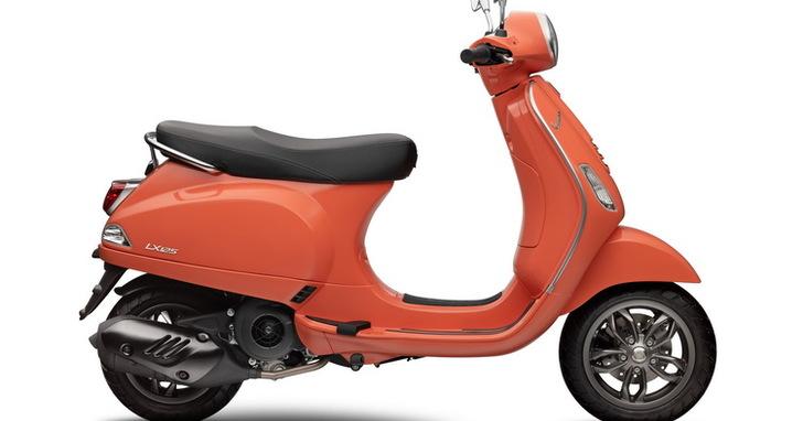 Vespa LX 125 i-get FL 新色登場,珊瑚紅限量 20 台!