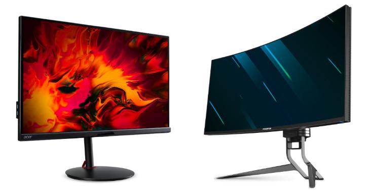 宏碁推出六款 Predator 和 Nitro 系列電競螢幕新品