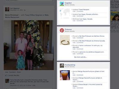 Facebook 新型 Timeline App,除了讚,也能按看、聽、吃…