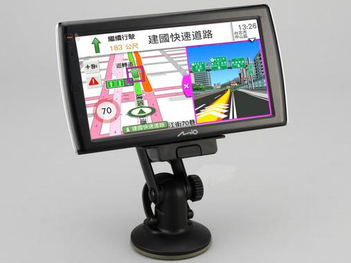 Mio Cruiser 7190 評測:導航、大螢幕數位電視通通有