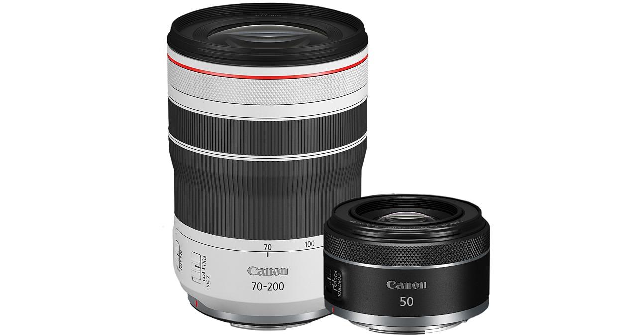 Canon 擴充 RF 鏡頭戰力,推出 RF 50mm F1.8 與 RF 70-200mm F4L,兼具輕巧與放大率