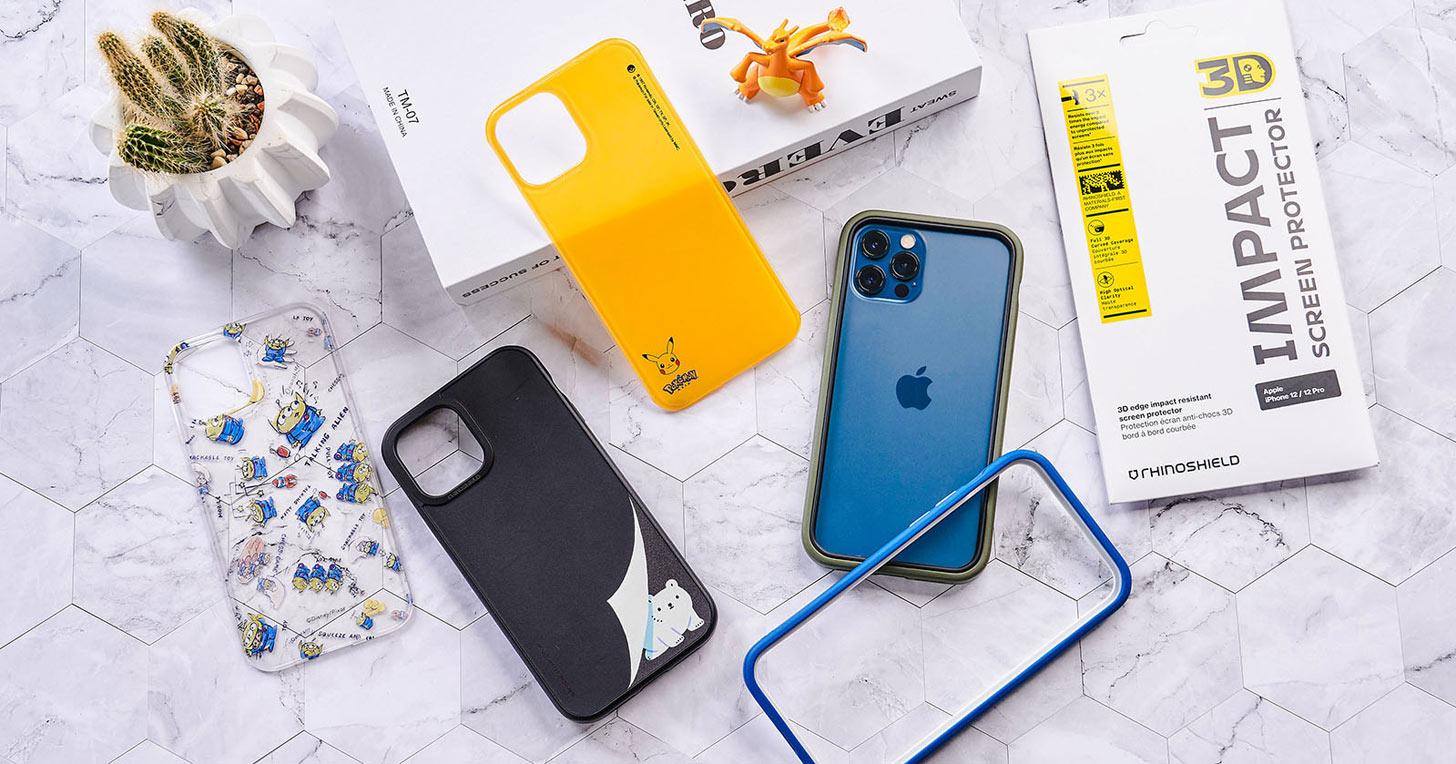 最強防護來襲!專為 iPhone12 系列量身打造的犀牛盾組合:3D 壯撞貼、Mod NX + SolidSuit 手機殼完美打造 360 度零死角防護!