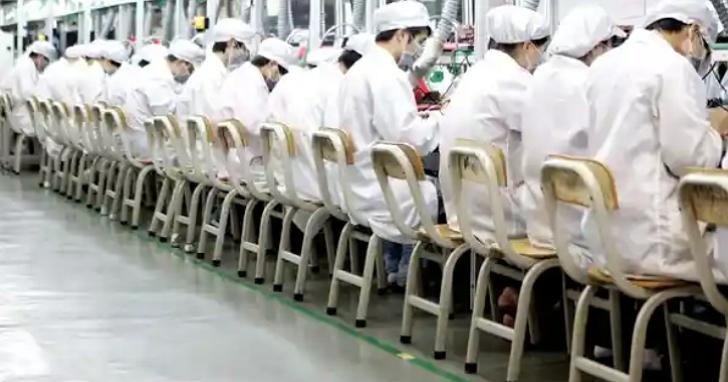 和碩工廠被逮到違規使用實習生加班、超時工作,蘋果宣布將暫停新業務合作
