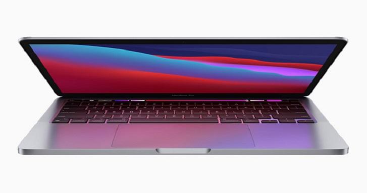 Apple MacBook Pro 也搭 M1 處理器,速度提升 2.8 倍、20 小時續航力、39,900 元起