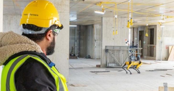 波士頓動力的Spot機器狗被用來監控建築工地的施工進度,做工的人更辛苦了