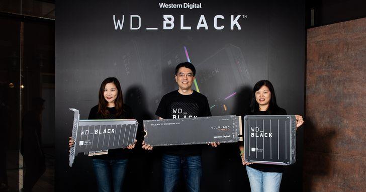Western Digital WD BLACK產品系列添生力軍,重新定義次世代遊戲體驗