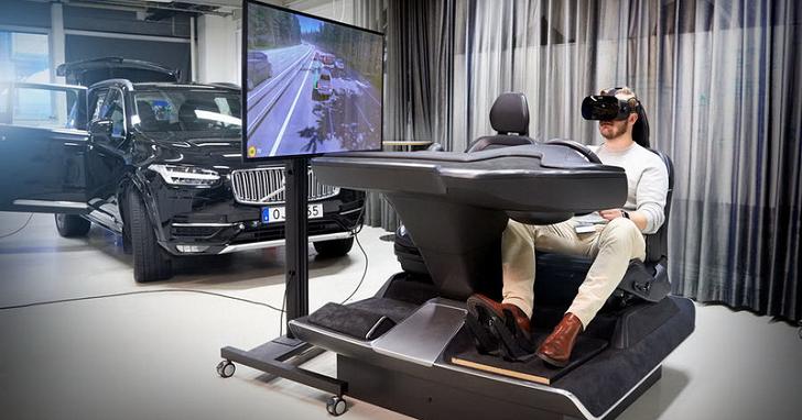 車輛安全從電玩借鑑,Volvo經由VR虛擬實境研發更加安全的行車設備
