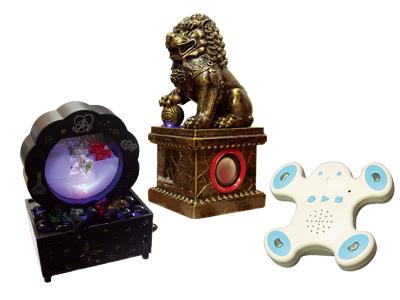 T小編挖寶:超有趣人形樂器玩具、可水洗的電腦風扇、廟宇石獅喇叭