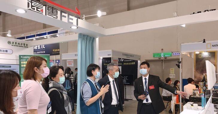 遠傳參加台灣醫療科技展,推動5G遠距診療、居家醫療照護