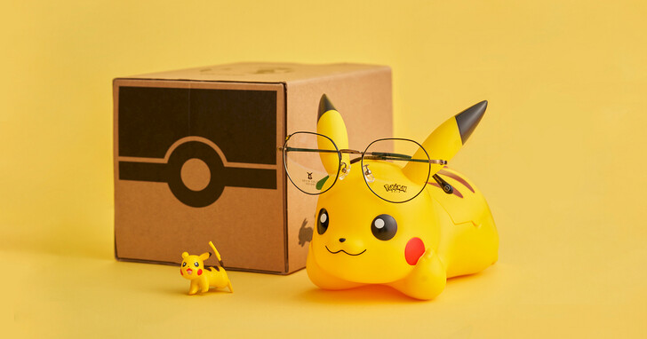 小林眼鏡聯名寶可夢推出專屬鏡架,皮卡丘、伊布打造專屬大人感的可愛