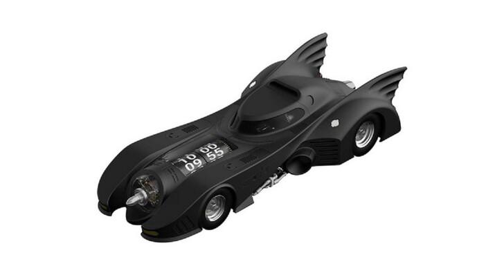 當不了超級英雄沒關係,你還可以考慮這款「蝙蝠車造型手錶」