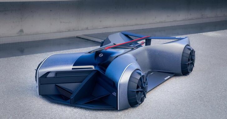 未來賽車長這樣?Nissan GT-R (X) 2050 要讓車手趴著駕駛