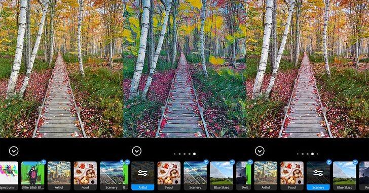 如何用Photoshop Camera一鍵拍出經典照片?