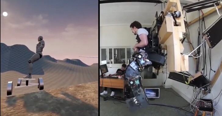 世界第一個VR外骨骼原型機Holotron,帶給你虛擬世界的「重力」