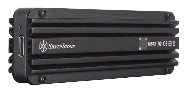 SilverStone推出USB 3.2 Gen2x2介面MS12硬碟外接盒,實測頻寬可達2,073 MB/s