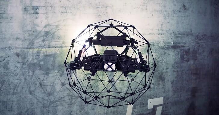 這台無人機不僅超耐撞,還可做工業檢測用途:瑞士 Flyability ELIOS 2