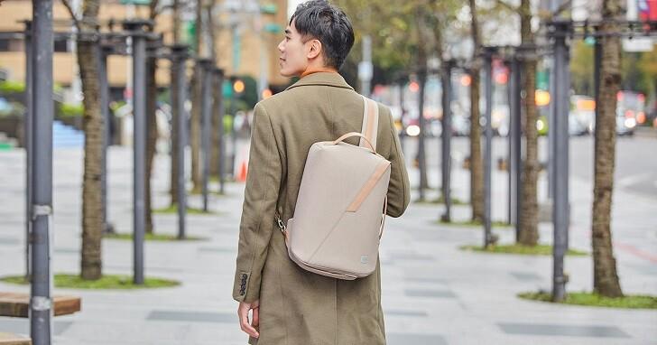 Moshi Muto 後背、斜肩背、手提三用電腦包,百搭兼具機能