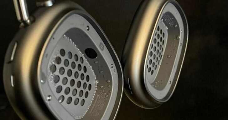 使用者吐槽AirPods Max會「潮到出水」,若喇叭受損恐怕得自己付費維修