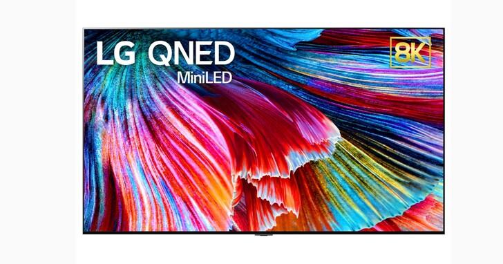 LG 首款 QNED Mini LED 電視即將登場,亮度對比度大幅提升、還支援 8K /120Hz