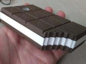 有哏巧克力,拿來用的咬一口滑鼠、可以吃的窗邊奈奈美
