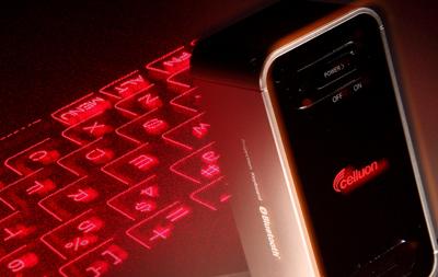 Magic Cube 實測:雷射投影變鍵盤,還可當做觸控板