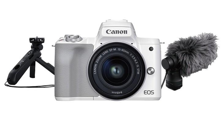 網紅 Vlog 相機 Canon EOS M50 Mark II 登場,單機身售價 17,900 元