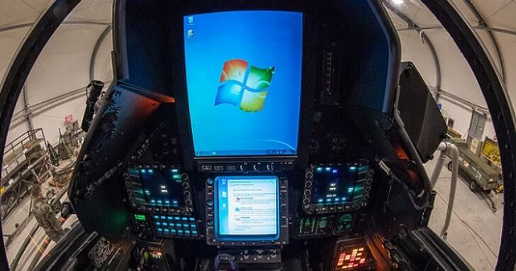 法國空軍公布幻象兩千翻修計畫照片,但網友只注意到艙內採用Windows系統