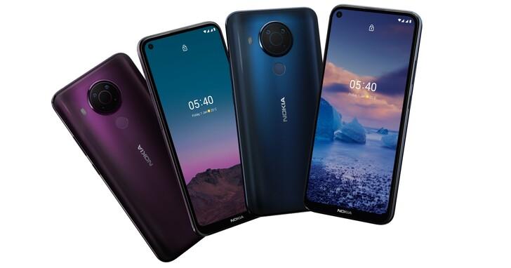 Nokia 5.4 新發表,4800 萬畫素四鏡頭、4000mAh 大電池只要 5990 元