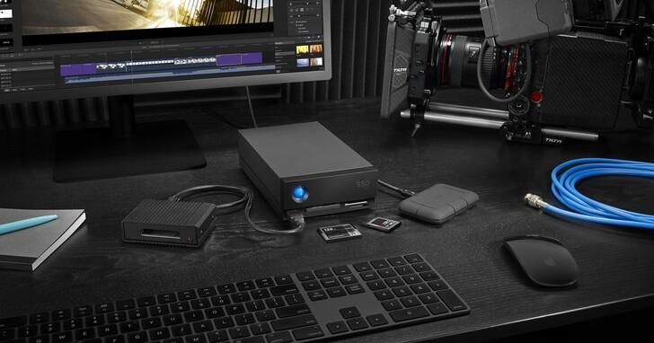 LaCie 推出 1big Dock SSD Pro 和 1big Dock 儲存解決方案
