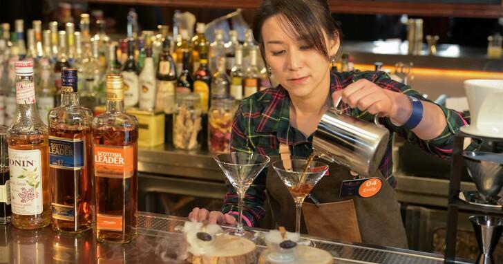 仕高利達Bar Leader Competition第一屆調酒大賽台灣冠軍出爐-AHA Saloon調酒師李詠蕎以作品FORCE原力勇奪第一