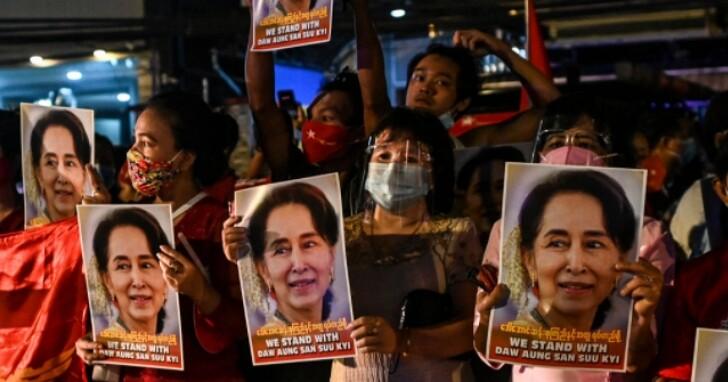 緬甸傳出翁山蘇姬及多位政府領導人遭到拘捕後,國內開始斷網