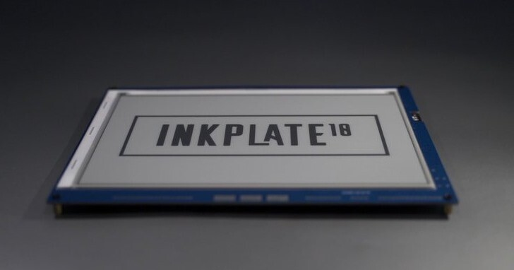 Inkplate 10電子紙模組,還支援Wi-Fi無線傳輸功能